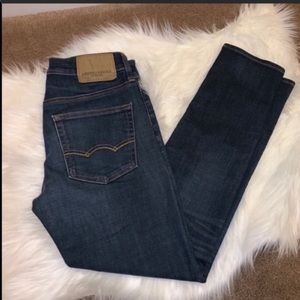 AEO American Eagle Stretchy Skinny Jeans 29x30